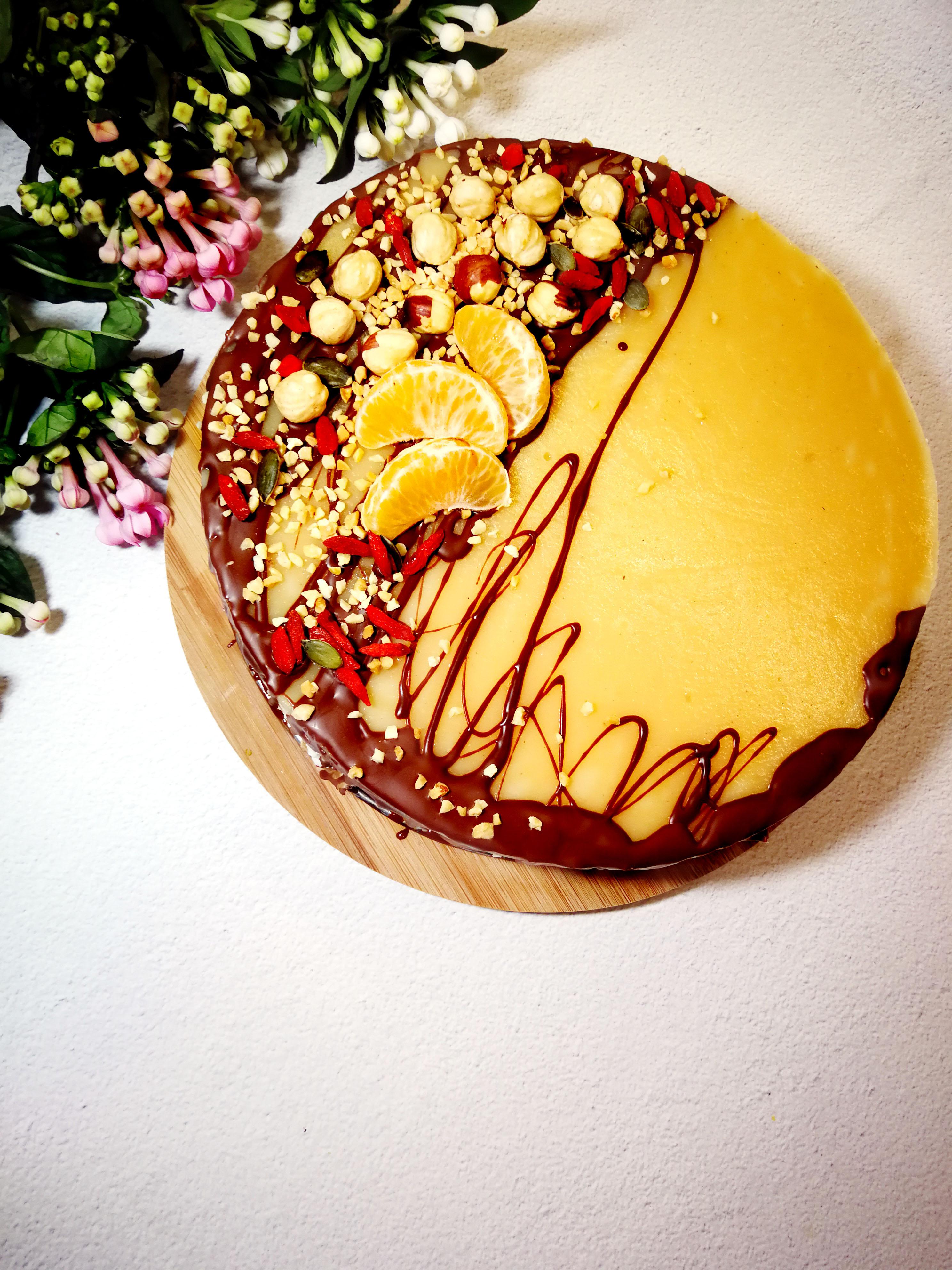 Rikotos sūrio tortas